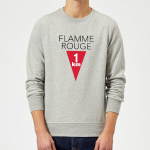 Summit Finish Flamme Rouge Sweatshirt - Grey