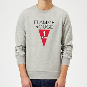 Summit Finish Flamme Rouge Sweatshirt - Grey