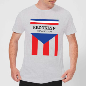 Summit Finish Brooklyn Chewing Gum Men's T-Shirt - Grey