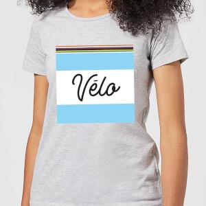 Summit Finish Velo Women's T-Shirt - Grey