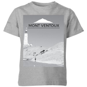 Summit Finish Mont Ventoux Scenery Kids' T-Shirt - Grey