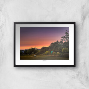 Thunderbolt Photography Beeston Sunset Art Print