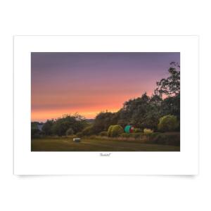 Thunderbolt Photography Beeston Sunset Art Print