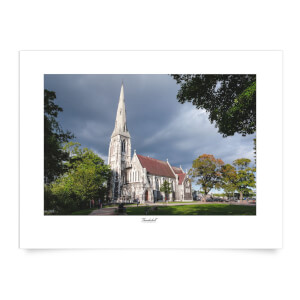 Thunderbolt Photography Copenhall Chapel Art Print