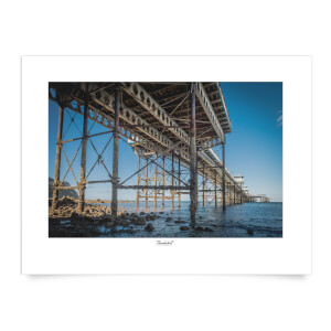 Thunderbolt Photography Llandudno Pier Art Print