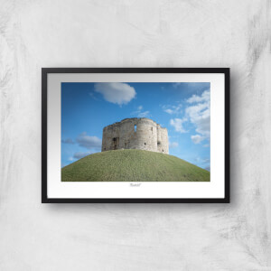 Thunderbolt Photography Cliffords Tower, York Art Print