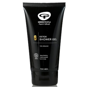 Green People No. 6 Detox Shower Gel(그린 피플 No. 6 디톡스 샤워 젤 150ml)