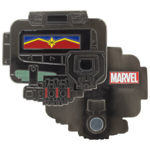 Décapsuleur en métal – Captain Marvel Pager
