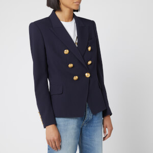 Balmain Women's 6 Button Jacket - Blue