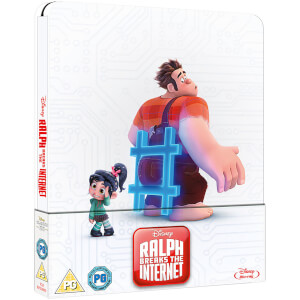 Ralph Breaks the Internet – Zavvi UK Exclusive Limited Edition Steelbook