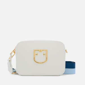 Furla Women's Brava Mini Cross Body Bag - Chalk