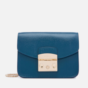 Furla Women's Metropolis Mini Cross Body Bag - Atlantic