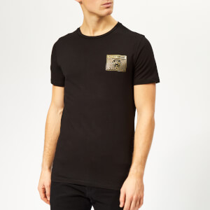 Plein Sport Men's Metal Sport T-Shirt - Black/Gold