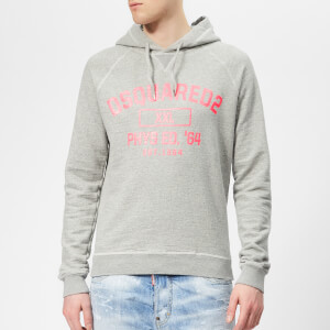 Dsquared2 Men's Raglan Hoody - Grey