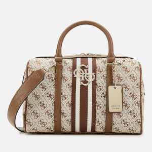 Guess Women's Bowler Bag - Brown