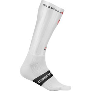 Castelli Fast Feet Socken - Weiss
