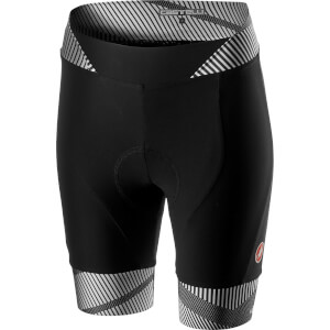 Castelli Women's Millerighe Shorts - White/Black