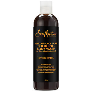 Shea Moisture African Black Soap Soothing Body Wash -suihkusaippua 384ml