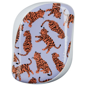 Компактная расческа Tangle Teezer x Skinny Dip Compact Styler Detangling Hair Brush — Trendy Tiger