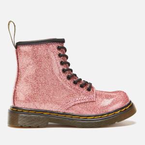 Dr. Martens Toddler's 1460 Glitter 8-Eye Boots - Pink