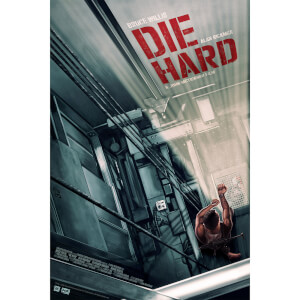 Die Hard 16 x 24 Inch Fine Art Giclee Print by Sam Gilbey - Zavvi Exclusive Timed Edition