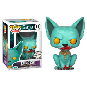 Saga Lying Cat (Battle Damaged) EXC Funko Pop! Vinyl