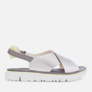 Camper Women's Cross Front Sandals - Medium Grey