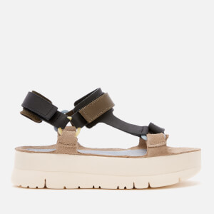 Camper Women's Oruga Up Flatform Sandals - Multi