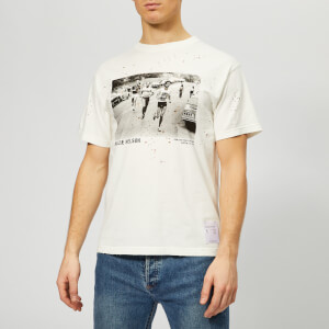 Satisfy Men's Willie Moth Eaten Short Sleeve T-Shirt - Off White