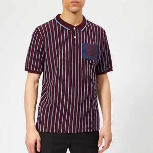 Kent & Curwen Men's Mccabe Polo Shirt - Burgundy