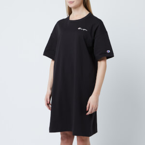 Champion Women's Small Script Logo Dress - Black