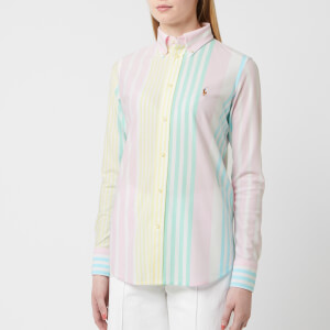 Polo Ralph Lauren Women's Striped Heidi Shirt - Multi Stripe