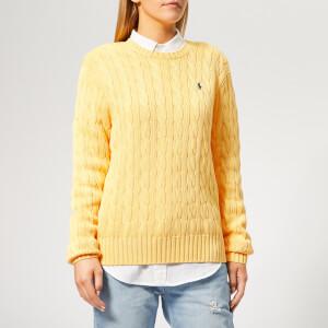 Polo Ralph Lauren Women's Cable Knit Sweater - Buttercream
