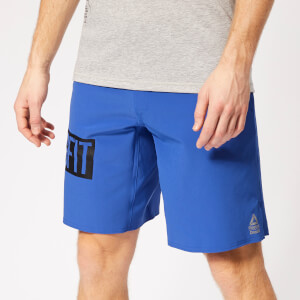 Reebok Men's Crossfit Epic Base Shorts - Blue