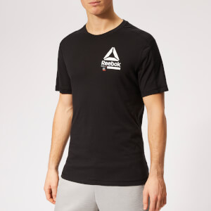 Reebok Men's Speedwick Move Short Sleeve T-Shirt - Black