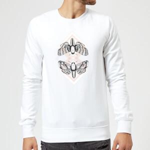 Barlena Moth Sweatshirt - White