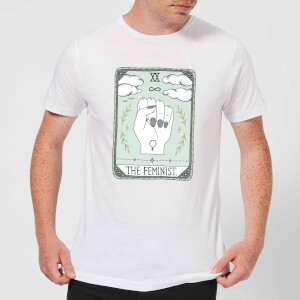 Barlena The Feminist Men's T-Shirt - White