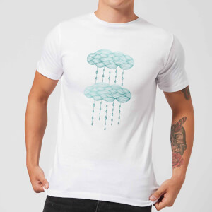 Barlena Rainy Days Men's T-Shirt - White