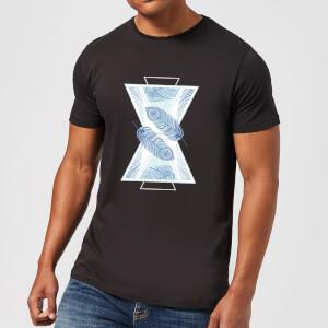 Barlena Feathers Men's T-Shirt - Black
