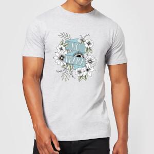 Barlena No Drama Men's T-Shirt - Grey