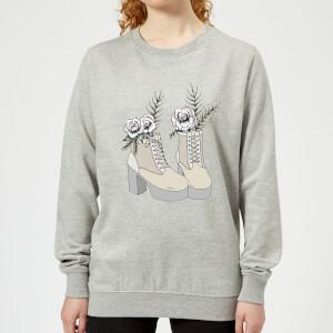 Barlena Fresh Start Women's Sweatshirt - Grey