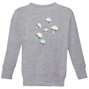 Barlena Jellyfish Kids' Sweatshirt - Grey