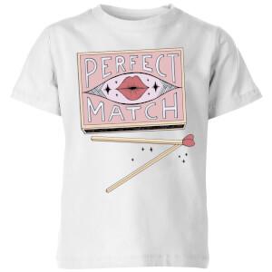 Barlena Perfect Match Kids' T-Shirt - White
