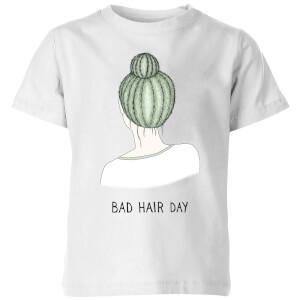 Bad Hair Day Kids' T-Shirt - White