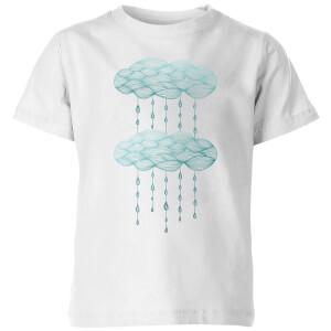 Rainy Days Kids' T-Shirt - White