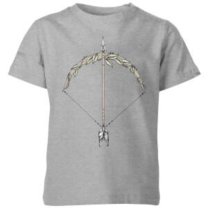 Bow And Arrow Kids' T-Shirt - Grey