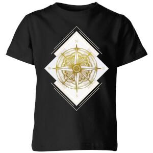 Compass Kids' T-Shirt - Black