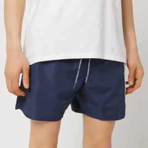 Emporio Armani Men's Colourblock Swim Shorts - Navy