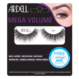 Pesta?as postizas Mega Volume 251 de Ardell