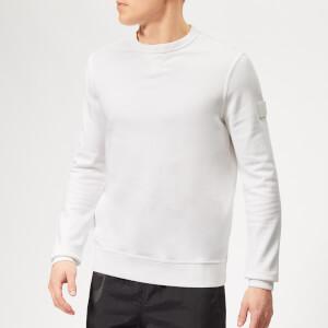 BOSS Men's Walkup Sweatshirt - White